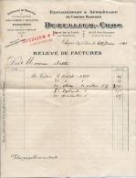 63 - THIERS  - Exploitation Et Appretage De Cornes Blondes    -  DUZELLIER  CROS  - 1910 - France