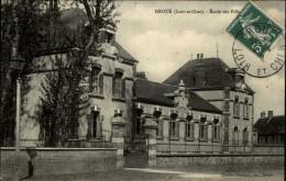 41 - DROUE - Ecole Des Filles - Droue