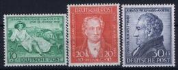 Bizone Mi Nr 108 - 110 MNH/** Postfrisch  1949 - Zone Anglo-Américaine