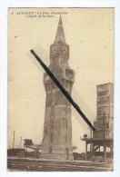 CPA Abîmée - Aulnoye - La Tour Florentine (Dépôt De La Gare) - Aulnoye