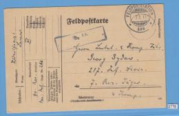 FELDPOST WW1; Feldpostkarte,  GERMAN MAIL, 7. 1. 1917 FELDPOST STATION 404, REGIMENT 266 - Militaria