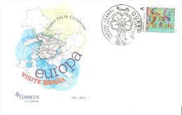 Sello Personalizado En Carta Con Matasello Capital Termal. - España