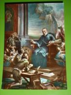 S.GIUSEPPE CALASANZIO,Madonna - SCUOLE PIE -  Istituto Padri Scolopi OVADA,Alessandria,Piemonte - Cartolina NV - Santini