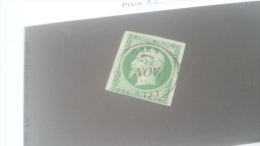 LOT 269998 TIMBRE DE FRANCE OBLITERE N�12 VALEUR 90 EUROS