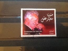 Libanon / Liban - 100 Jaar Geboorte Van Saïd Akl (500) 2012 Rare! - Libanon