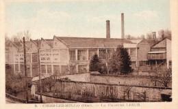 CPA, Cires-les-Mello, La Filature Lesur - Francia