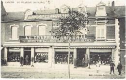 Marche En Famenne Au Drapeau National Vetements Confectionnés Tissus En Tous Genre Animation 1914 - Marche-en-Famenne