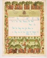 BELGIE BELGIQUE TELEGRAM 1955 LIER Model A.14 (V.) - R-Zettel