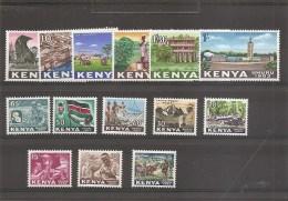 Kenya ( 1/14 XXX -MNH) - Kenya (1963-...)