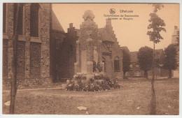 Geluwe, Gheluwe, Gedenkteeken Der Gesneuvelde Soldaten En Burgers (pk22203) - Wervik