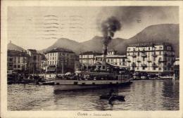 Como - Imbarcadero - Con Affrancatura Cent. 20 Centenario Della Morte Di Alessandro Volta - 1900-44 Victor Emmanuel III