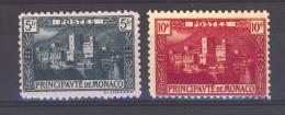 00915  -  Monaco :   Yv  63-64  * - Monaco