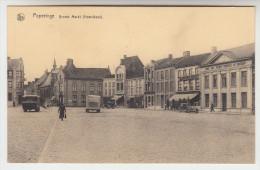 Poperinge Poperinghe, Groote Markt, Noordkant (pk22226)