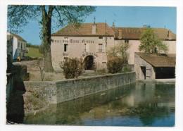"""BLIGNY SUR OUCHE-1973-Relais Gastronomique""""Hotel Des 3 Faisans""""Jean Luc Bouché-carte Pub éd Combier-cachet Bligny Sur Ou - Autres Communes"""