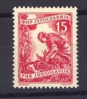 00936  -  Yougoslavie  : Mi  606  *    Offset 20x26 - 1945-1992 Repubblica Socialista Federale Di Jugoslavia