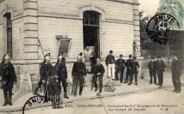 94 VINCENNES Caserne Du 23è Dragons Très Animée - Vincennes