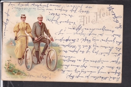 "Radfahrer "" All Heil "" 1898 - Postkaarten"