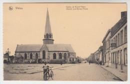 Watou, Eglise et Grand Place (pk22251)