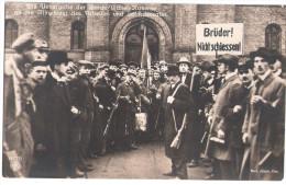 POTSDAM November Revolution 1918 Übergabe Kaserne Ulanen An Die Mitglieder Des Arbeiter + Soldaten Rat Ungelauf - Grèves