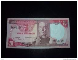 Angola 1,5,10,20,50,100 And Escudos 3 Notes - Angola