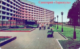 USED PHONE CARDS RUSSIA  Taraskul  (120 Rubles  Taraskul Sanatorium TYUMEN REGION ) - Russia