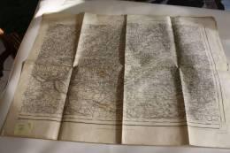 AGEN  S.E. TYPE 1889 N° 205 MILITARIA CARTE GEOGRAPHIQUE SERVICE DE L´armée  AYANT APPARTENU A UN MILITAIRE CLASSE 1894 - Topographical Maps