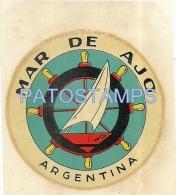 15407 ARGENTINA MAR DE AJO BS AS SHIP BOAT LUGGAGE NO POSTAL POSTCARD - Vieux Papiers