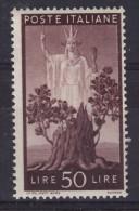 Italy 1945 50L MNH(**) - 1944-46 Lieutenance & Humbert II