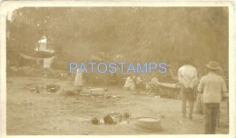 15414 ARGENTINA JUJUY ISAN PEDRO CAMPAMENTO INDIO EN LA ESTACION  YEAR 1914 14.5 X 9 CM PHOTO NO POSTAL POSTCARD - Alte Papiere