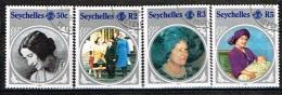 SEYCHELLES /Oblitérés/Used/1985 - 89 éme Anniversaire De La Reine Mère Elizabeth - Seychelles (1976-...)