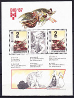 TCHECOSLOVAQUIE BLOC ET FEUILLET 1987 YT N° BF 76 ** - Blocs-feuillets