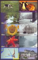 UKRAINE. 80 CHIP PHONECARDS, ALL DIFFERENT. Lot Nr. 6 - Ukraine