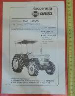 FIAT & STORJE (Slovenia) Yugoslavia / Tractor STORJE 402, 404 / PANCOMMERCE - Caterpillar, IMT 355 Tracteur Traktor - Tracteurs