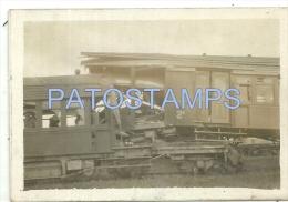 15429 ARGENTINA BUENOS AIRES ACCIDENTE DE TREN TRAIN 9 X 6 CM  PHOTO NO POSTAL POSTCARD - Vieux Papiers