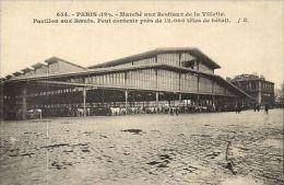 CPA Paris 19e (Dep. 75) Marché Aux Bestiaux De La Villette (82799) - France