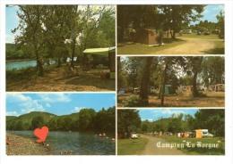 """38855-RA-24-Cazoulès-Camping Municipal De """" La Borgne """" ---------Vues Multiples Diverses - Sonstige Gemeinden"""