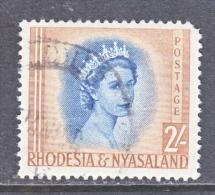 RHODESIA And  NYASALAND  151  (o) - Rhodesia & Nyasaland (1954-1963)