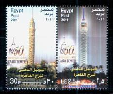 EGYPT / 2011 / CAIRO TOWER / MNH / VF  . - Nuovi