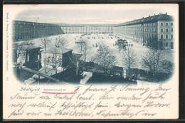 AK Stuttgart, Infanteriekaserne - Stuttgart