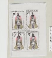 Tschechien 008/  Kirche 1996, 4-er Block  O - Tschechische Republik