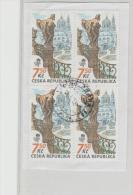 Tschechien 009 / PRAGA 2008, 4-er Einheit  O - Tschechische Republik