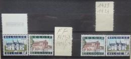 BELGIE  1967   nr. 1423 - 1424  /  1423 P3 - 1424 P4         Postfris **     CW  170,00 euro