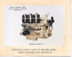 """MOTEUR """"GM 6 """"71 - Modifié - Camions & Poids Lourds"""
