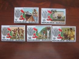 Burundi  1977  MNH  1451.55 - 1970-79: Ongebruikt