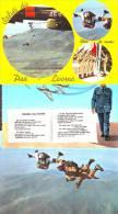 Paracadutisti E Aviatori, 3 Cartoline - Paracadutismo