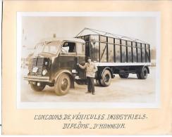 CAMION - Concours De Véhicules Industriels - Diplôme D'honneur - Camions & Poids Lourds