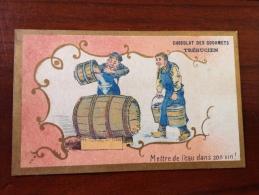 Chromos Café Trebucien Mettre De L Eau Dans Son Vin - Tea & Coffee Manufacturers