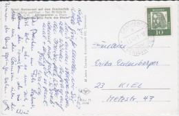 Bund Bd Dt Mi 350 Aptierter PSt I Stempel Drachenfels ü Königswinter Kte 1962 (1) - [7] Federal Republic
