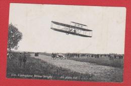 L Aéroplane Wilburg Wright  --  En Plein Vol  --   Pliures - ....-1914: Voorlopers