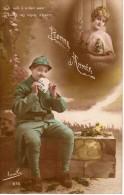 Bonne Année - Poilu Je Confie à Ce Blanc Papier Toutes Nos Raisons D'espérer - Bonne Année - 1916 - Novelta 873 - Neujahr